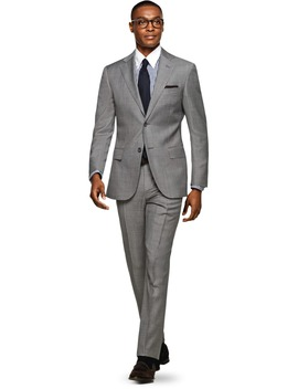 Napoli Gris Uni by Suitsupply