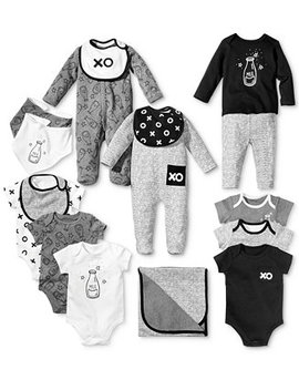 Milk & Xo Collection, Baby Boys & Girls, Created For Macy's by First Impressions