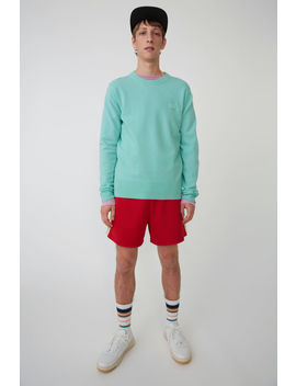 Crewneck Sweater Mint Green by Acne Studios