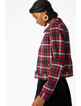 Plaid Jacket by Monki
