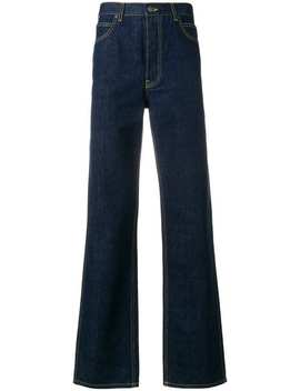 Calvin Klein 205 W39nycclassic Flared Jeanshome Men Calvin Klein 205 W39nyc Clothing Wide Leg Jeansx Misha Hollenbach Smurf T Shirtcable Knit Jumperridged Sole Derby Shoes Classic Flared Jeans by Calvin Klein 205 W39nyc