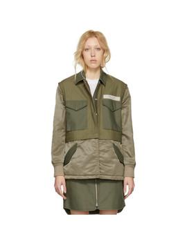 Green Modular Field Jacket by Rag & Bone