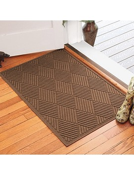 Weather Guard™ Diamonds 30 Inch X 45 Inch Door Mat In Dark Brown by Bed Bath And Beyond