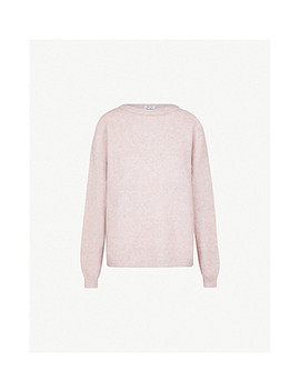 Dramatic Wool And Mohair Blend Jumper by Acne Studios