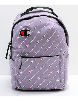 Champion Supercize Smoked Lilac Mini Backpack by Champion
