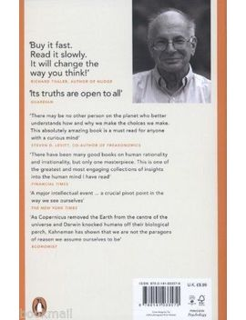 Thinking, Fast And Slow By Daniel Kahneman (New Paperback Book) by Ebay Seller