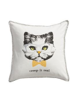 Creep It Real Cat Accent Pillow by Levtex