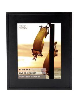 Black Hampton Frame, Home Collection By Studio Décor® by Studio Decor