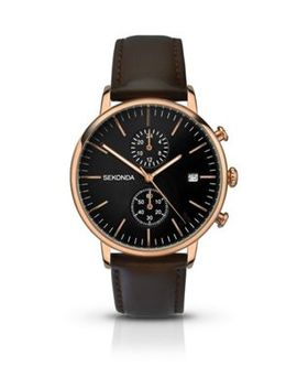 Sekonda   Gents Dual Time Watch by Sekonda