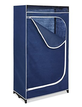 Whitmor Clothes Closet   Freestanding Garment Organizer With Sturdy Fabric Cover by Whitmor