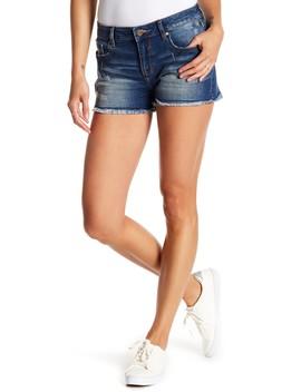 Distressed Frayed Hem Shorts by Vigoss