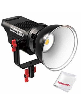 Aputure Light Storm Cob 120 D 135 W 6000 K Daylight Balanced Led Continuous Video Light Cri96+ Tlci96+ 14000lux@0.5 M Bowens Mount Dual Power Supply 2.4 G Remote Control 18d B Low Noise V Mount Plate by Aputure