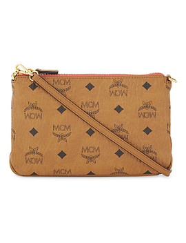 Millie Coated Canvas Cross Body Bag by Mcm