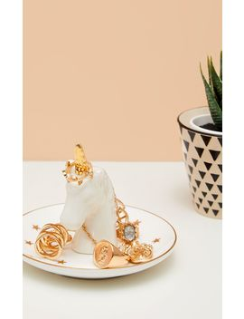 Sass And Belle Stargazer Unicorn Jewellery Dish by Prettylittlething