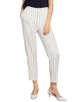 Abigail Pinstripe Ankle Trousers by Habitual