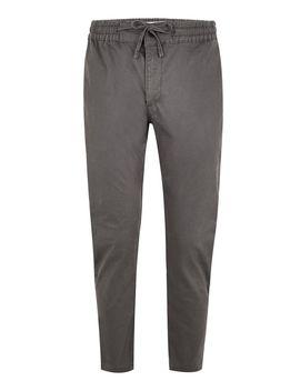Grey Woven Joggers by Topman