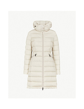 Flammette Quilted Shell Down Coat by Moncler