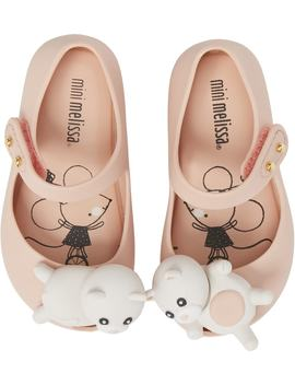 Mini Ultragirl Cat Mary Jane Flat by Mini Melissa