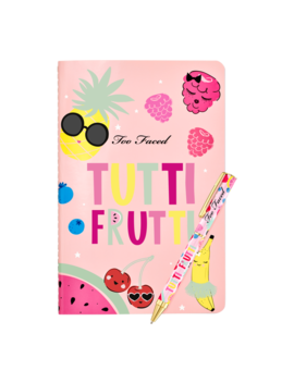Tutti Frutti Pen And Notebook by Too Faced