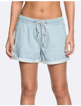 Womens Love On The Sand Denim Beach Short by Roxy