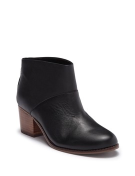 Leila Leather Ankle Bootie by Toms