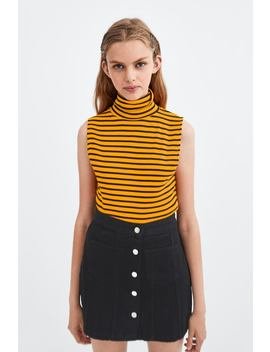 Ribbed Tank Top  Sleeveless T Shirts Woman by Zara