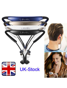 For Samsung Level U Bluetooth Wireless In Ear Headphones Stereo Neck Headset Bk by Ebay Seller