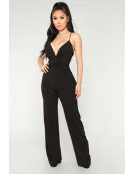 Simply The Best Jumpsuit   Black by Fashion Nova