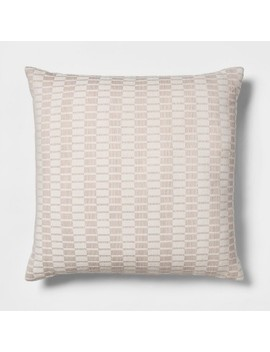 Woven Linework Oversize Square Throw Pillow   Project 62™ by Shop All Project 62™