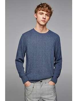 Mixed Knit Sweater  View All Knitwear Man by Zara