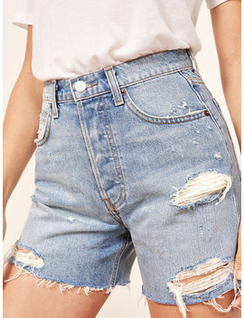 Lola High Rise Jean Short by Reformation