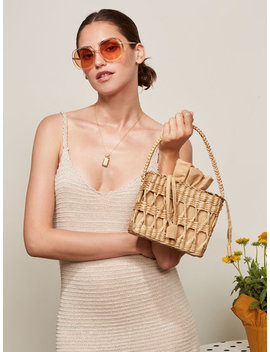 Open Weave Box Bag by Reformation
