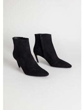 Curve Stiletto Ankle Boots by & Other Stories