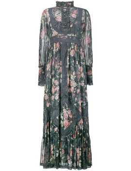 Floral Print Maxi Dress by Zimmermann