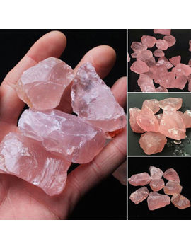 1x Natural Raw Pink Rose Quartz Crystal Stone Specimen Healing Natural Stones by Unbranded/Generic