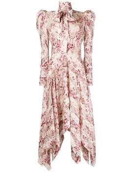 Unbridled Chevron Midi Dress by Zimmermann