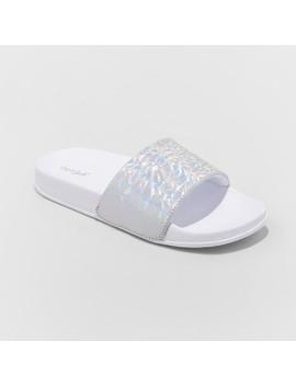 Girls' Blossom Slide Sandals   Cat & Jack™ by Shop All Cat & Jack™