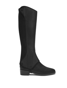 Milburn Leather Riding Boot by Tory Burch
