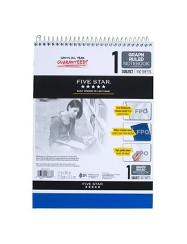 "Spiral Notebook 1 Subject College Ruled 8.5""X 11""   Mead by Shop All Five Star"