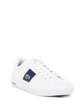 Europa Lcr Brz Spm Leather Sneaker by Lacoste
