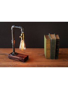 Edison Lamp Rustic Home Decor Steampunk Lamp Unique Table Lamp Industrial Lighting Housewarming Gift For Men Desk Lamp Bedside Lamp by Urban Edison