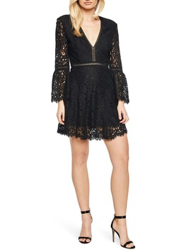 Midnight Lace Minidress by Bardot