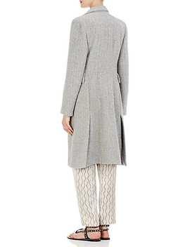 Danki Alpaca Wool Double Breasted Coat by Isabel Marant