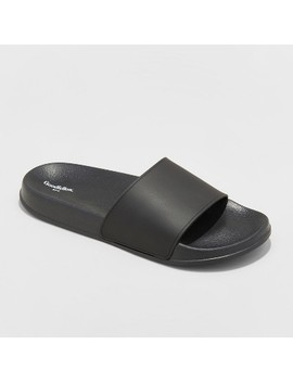 Men's Rickey Slide Sandals   Goodfellow & Co™ Black by Shop All Goodfellow & Co™