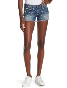 Remy Low Rise Star Print Shorts by Big Star