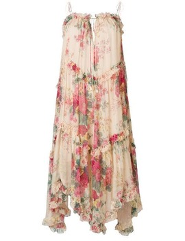 Floral Midi Dress by Zimmermann