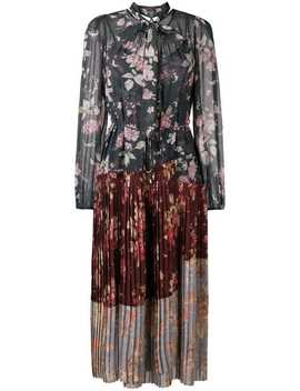 Unbridled Pleated Midi Dress by Zimmermann