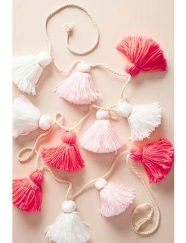 Tonal Pink Tassel Garland by Meri Meri