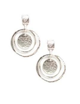 Metal In My Business Earrings   Silver by Fashion Nova