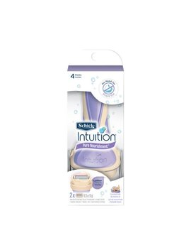 Schick Intuition Pure Nourishment Women's Razor   1 Razor Handle Plus 2 Refill Razor Blades by Schick